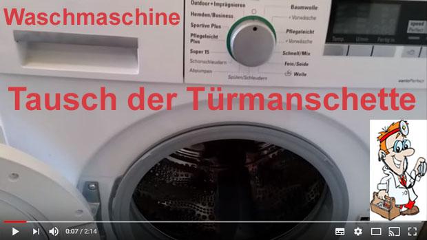 T/ürdichtung f/ür Waschmaschinen von Bosch Maxx//Siemens